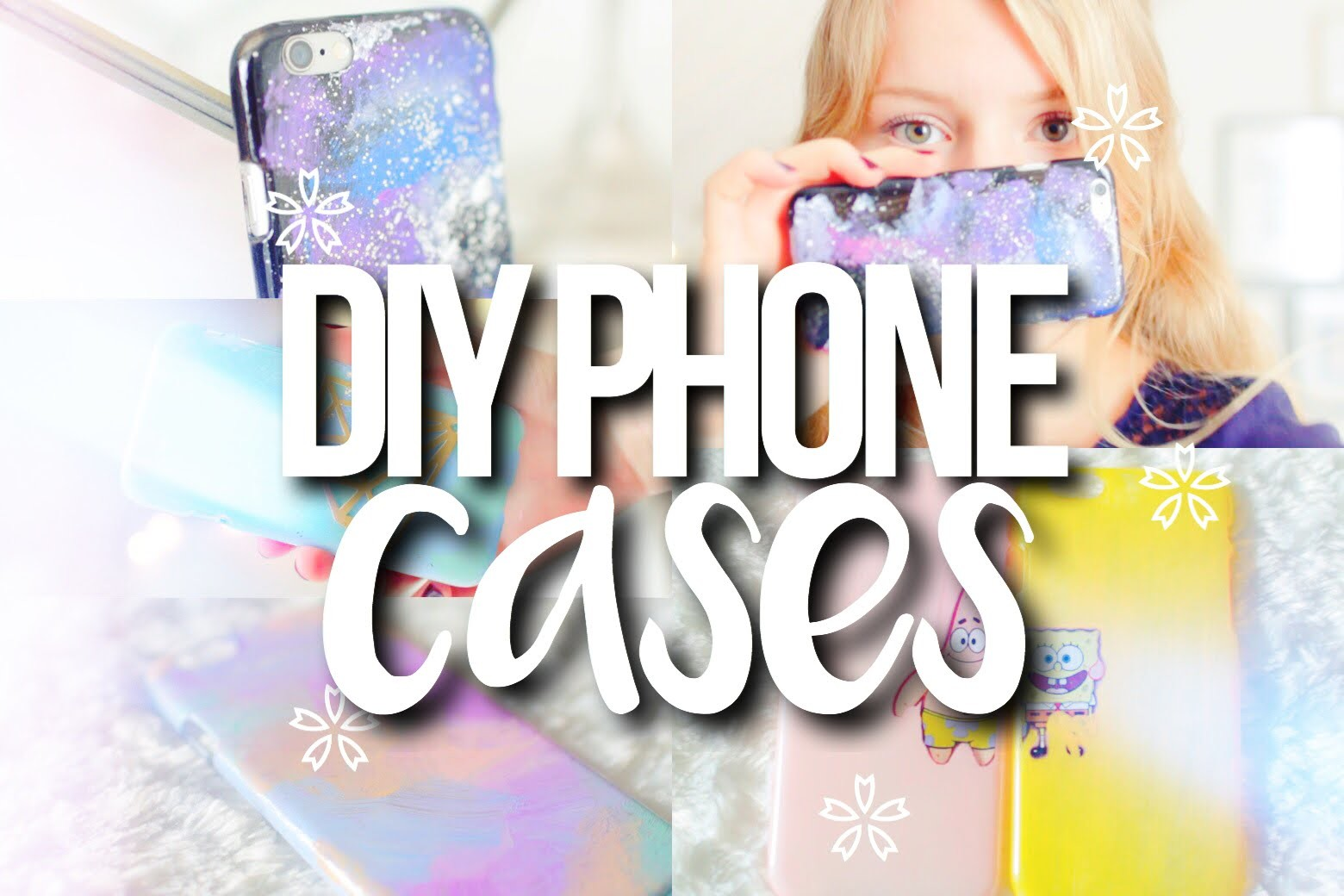 DIY Tumblr Inspired Phone Cases! | Galaxy, Pastel + MORE!
