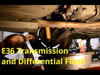 E36 M3 Track Prep: Transmission and Differential Fluid Change DIY