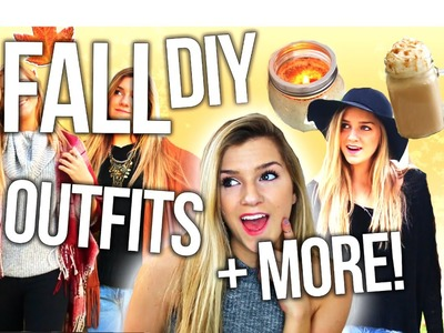 Fall Inspiration! DIY Room Decor, Outfit Ideas & Warm Drinks!