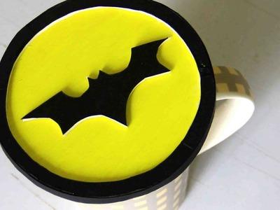 How To Make a Batman Coaster - DIY Home Tutorial - Guidecentral