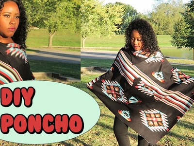 How to make a quick Poncho