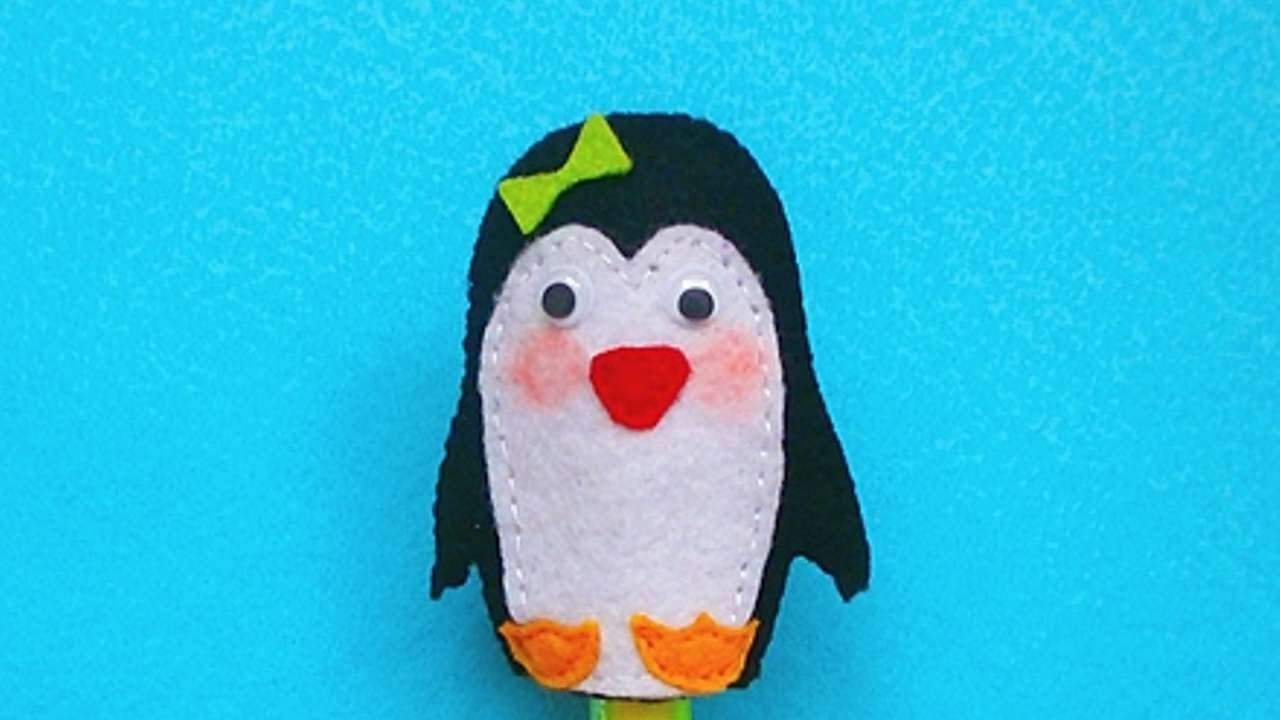 How To Make A Toy  Penguin Finger Puppet - DIY Crafts Tutorial - Guidecentral
