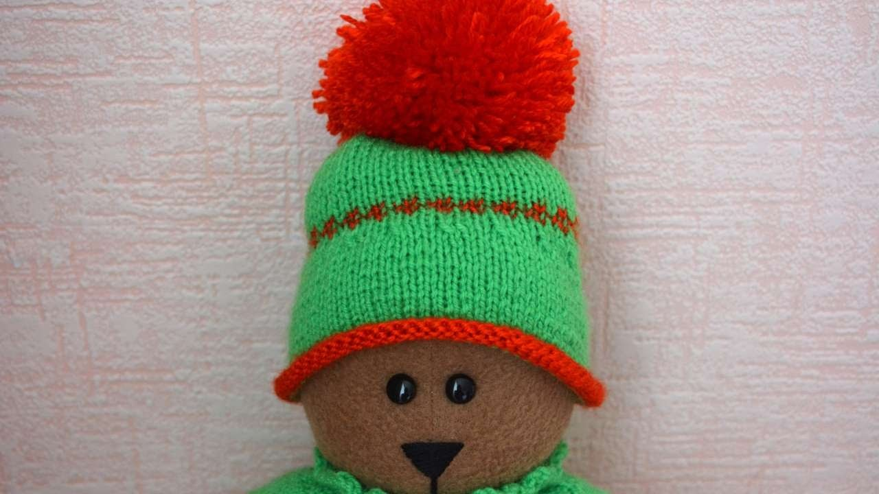 How To Make A Winter Warm Cap For A Bear - DIY Home Tutorial - Guidecentral