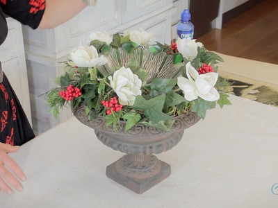 How to Make Decorative Wreath Containers