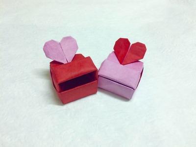How to make Origami Love box (Heart box) - Paper Ph2