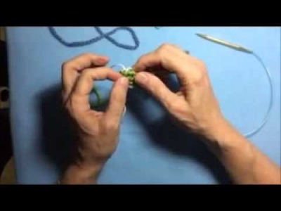 How to Remove Waste Yarn from a Provisional Cast On