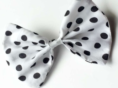 How To Sew A Perfect Fabric Bow - DIY Style Tutorial - Guidecentral