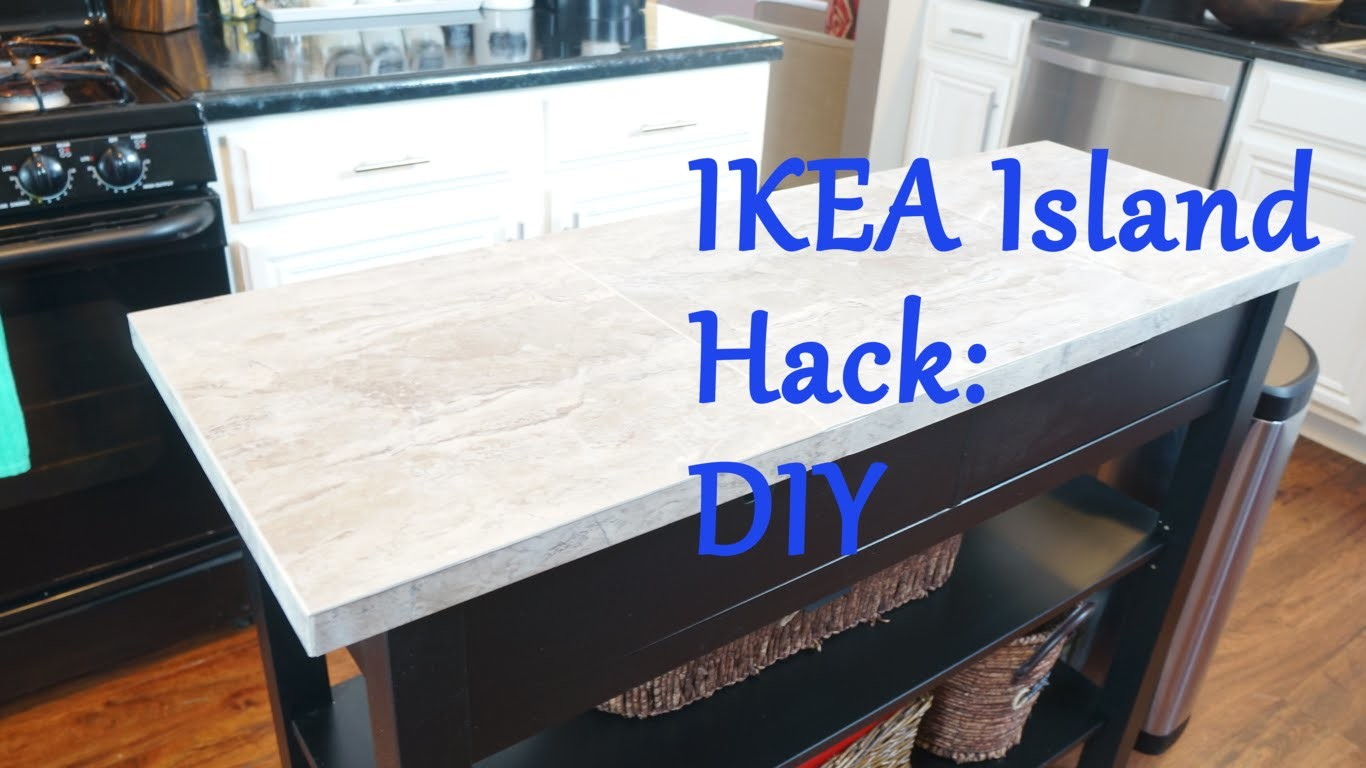 Ikea Island Top Hack - DIY