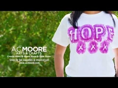 One More Minute: DIY Your Support for Breast Cancer Awareness