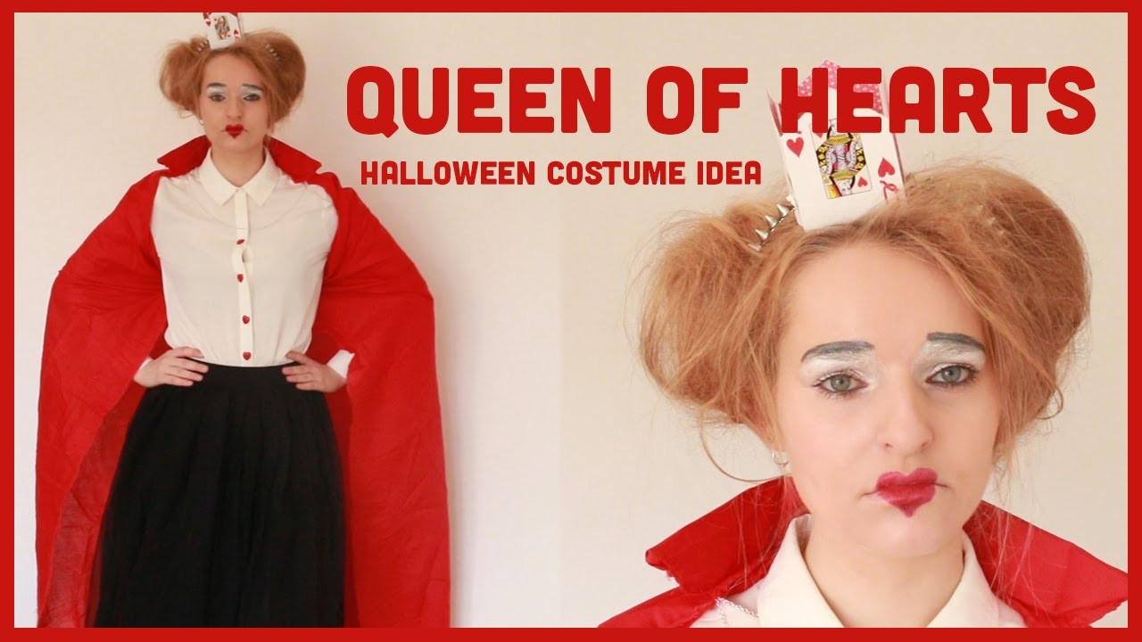 Queen of Hearts Halloween DIY & Costume Inspiration