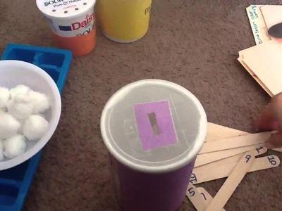 Toddler Busy Bags, File Folder Games & DIY Fine Motor Activities #1