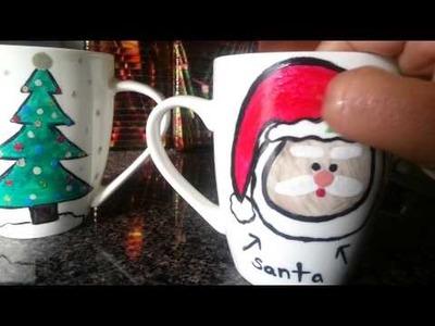 Tutorial: D.I.Y. Nail-Polished Coffee Mugs! | MomOfAllTrades