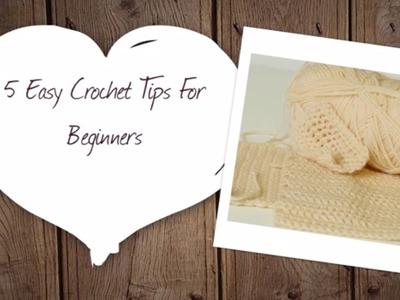 5 Easy Crochet Tips for Beginners | Hobbycraft