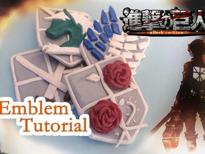 Attack on Titan Clay Emblem Tutorial