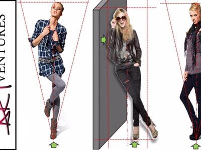 Balance Tutorial: Fashion Design Drawing Lesson