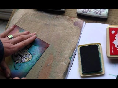 Card creations using the Gelli Plate