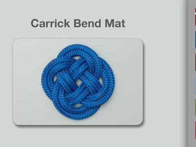 Carrick Bend Mat | How to Make a Carrick Mat