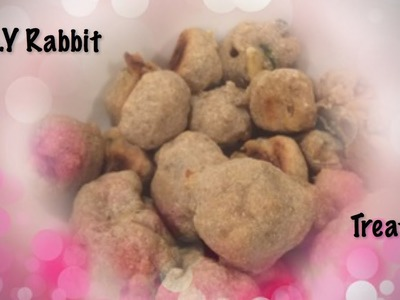 D.I.Y Rabbit Treats