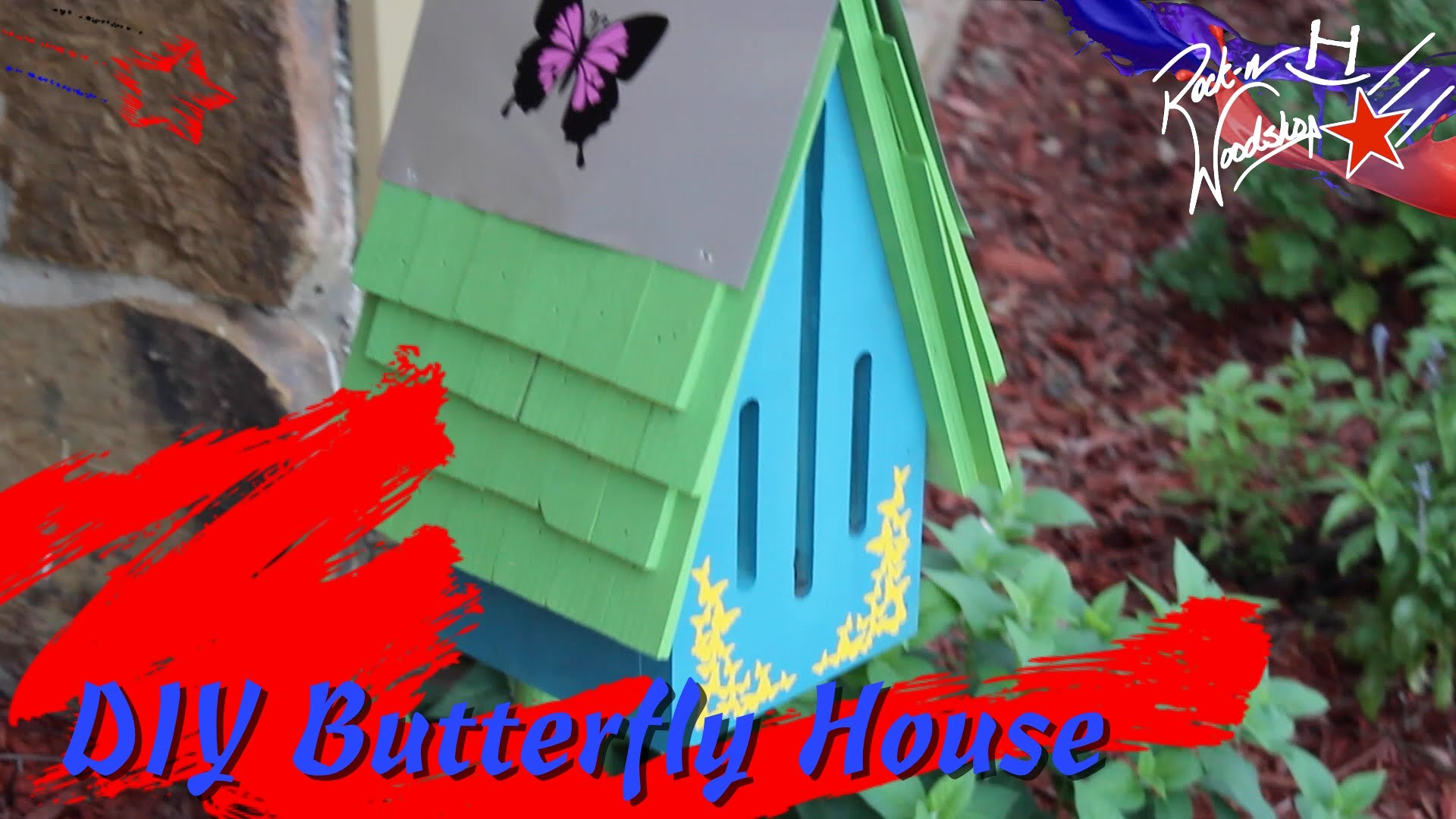 DIY Butterfly House - A Father's Day Project