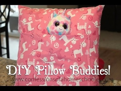 DIY Christmas Pillow Buddies