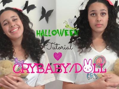 DIY Crybaby.Doll Halloween Tutorial I FrightFest