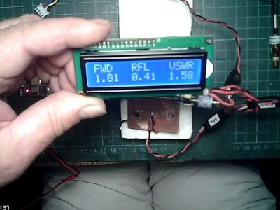 DIY Directional Coupler 5.8GHz with Arduino LCD VSWR.