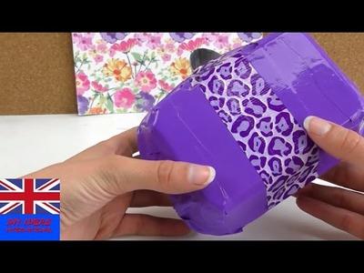 DIY EASY Tutorial Purse - How To Make A Fancy Bag