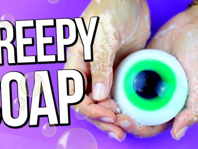 DIY EYEBALL SOAP ♥ Fun Halloween Gifts!