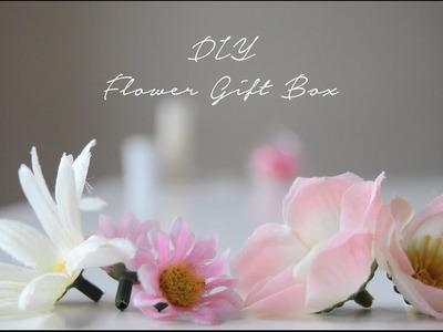 DIY Flower Gift Box Tutorial
