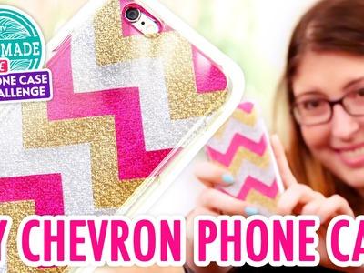 DIY Glitter Chevron Phone Case - HGTV Handmade Phone Case Challenge
