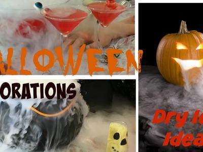 DIY Halloween Party Decoration Ideas - Dry Ice Tutorial