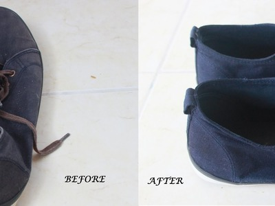 DIY: How To Dye Fabric or Canvas Shoes
