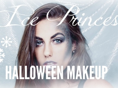 DIY ICE PRINCESS HALLOWEEN MAKEUP TUTORIAL || Natalie-Tasha Thompson