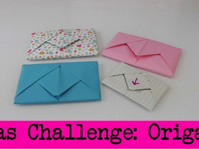 DIY Inspiration Challenge #19 Origami | Evas Challenge | Tutorial - Do it yourself