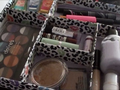♔ DIY-Makeup Storage Container ♔
