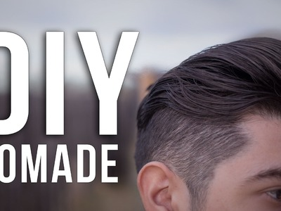 DIY Pomade - How To Make Pomade At HOME!
