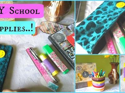DIY School Supplies.! (Holder, Pouch and custom Supplies.!)