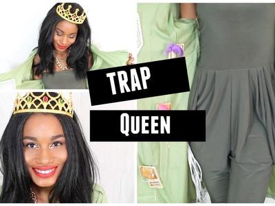 DIY Trap Queen Halloween Costume | Last Minute Idea |