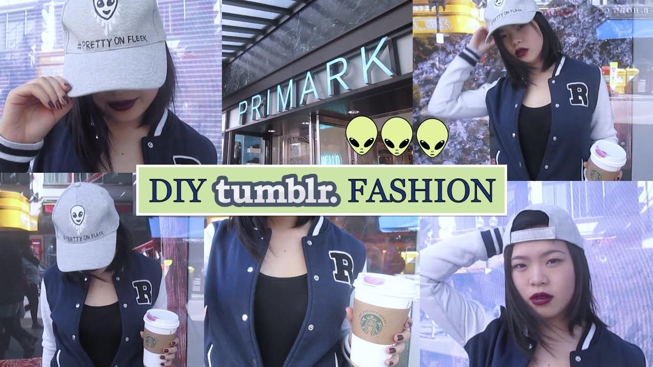 DIY Tumblr Fashion: Alien Emoji Baseball Cap