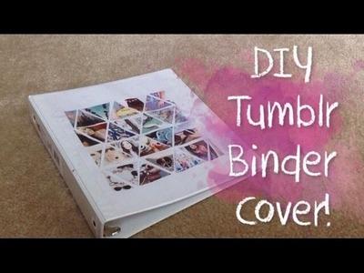 Diy Tumblr Inspired Binder Cover! #simplyback2school | simplyfab02