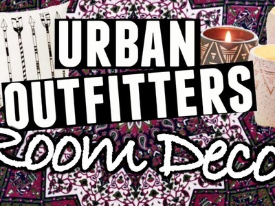 DIY Urban Outfitters Inspired Room Decor for FALL! | MaddyMcQ