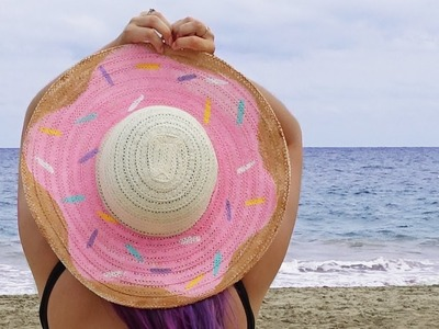 Donut Hat ♥ DIY