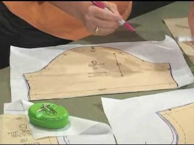 Gain confidence in pattern fitting using Nancy's easy pivot and slide technique