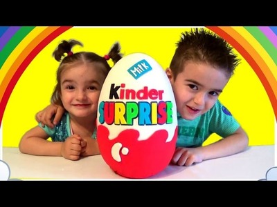 Giant Play Doh Egg Kinder Surprise Angry Birds Spongebob Mini Cars Toys Shopkins Unboxing
