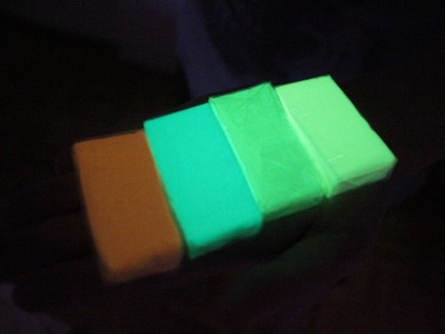Glow in the Dark Polymer Clay Demo & Experiments