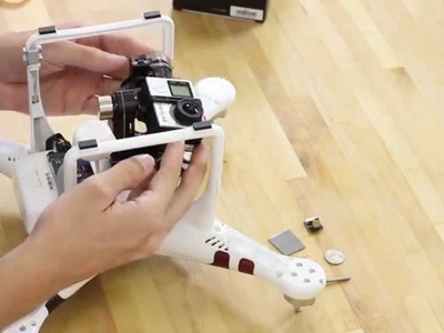 GoPro 4K Hero 4 on the DJI Phantom 2 H3-3D Gimbal! Tutorial & Review by AerialMediaPros.com