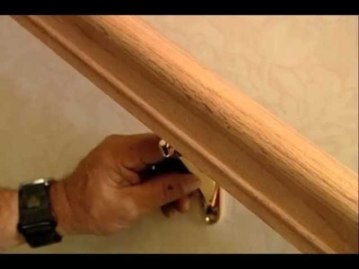 How to Install a Stair Handrail on Stairs - This Old House