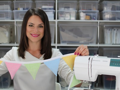 How To: Lavender Bunting Tutorial DIY