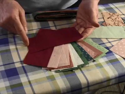 How to make a scrappy quilt binding