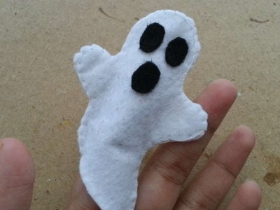 How To Make A White Ghost Finger Puppet - DIY Crafts Tutorial - Guidecentral